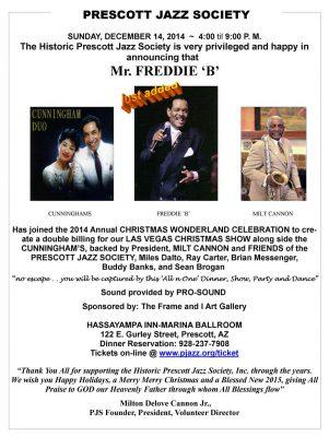 Freddie B - P Jazz Christmas