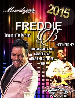 Freddie B at Marilyn B's