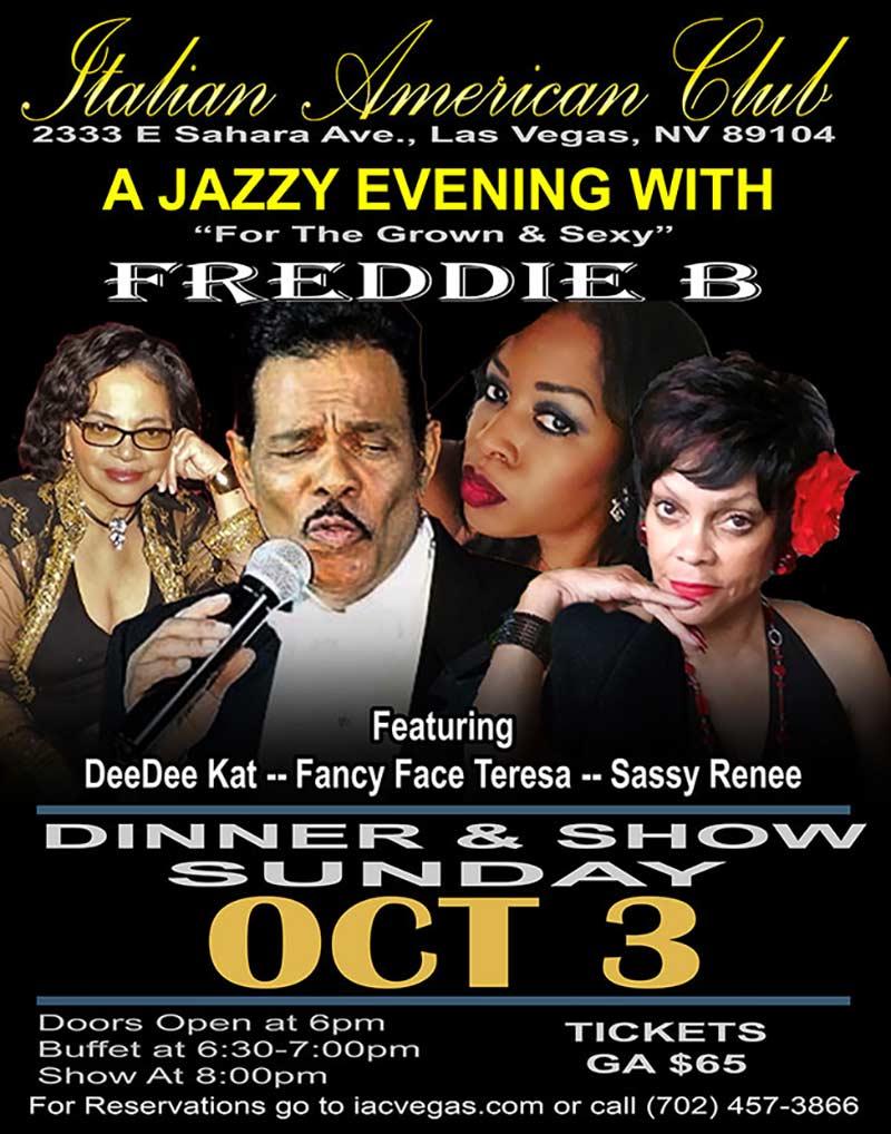 A Jazzy Evening with Freddie B